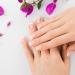 Manicure + AHA + Aromatherapy + Smalto